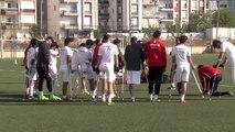 Ampute Milli Futbol Takımı'nın Antalya kampı
