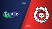 Tofas Bursa - Rytas Vilnius Highlights | 7DAYS EuroCup, RS Round 4