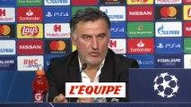 Galtier «Je suis déçu» - Foot - C1 - Lille