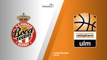 AS Monaco - ratiopharm Ulm Highlights | 7DAYS EuroCup, RS Round 4