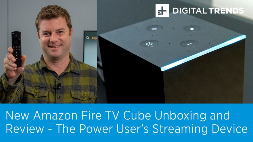 New Amazon Fire TV Cube Unboxing and Review | 2019