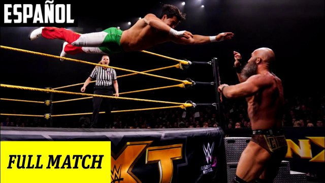 WWE NXT: Tommaso Ciampa vs. Angel Garza | Español Latino HD