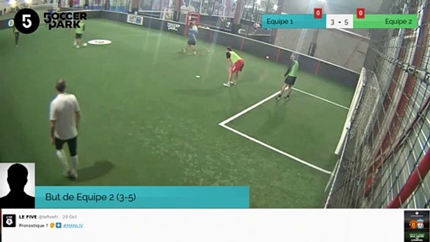 But de Equipe 2 (3-5)