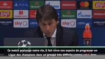 """Inter - Conte : """"Nous sommes sur la bonne voie"""""""