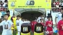 Highlights | HAGL - Khánh Hòa | Đội bóng phố Biển chính thức trở lại hạng Nhất | VPF Media