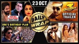 Dabang 3 GRAND Trailer Launch, Shahid On Priyanka - Nick, Malaika Arora Birthday | Top 10 News