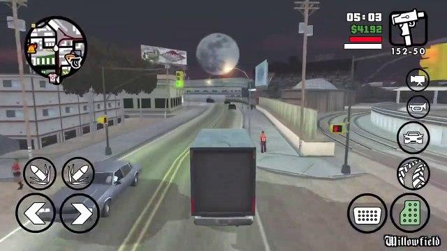 GTA SA IPhone Mission #12 Robbing Uncle Sam