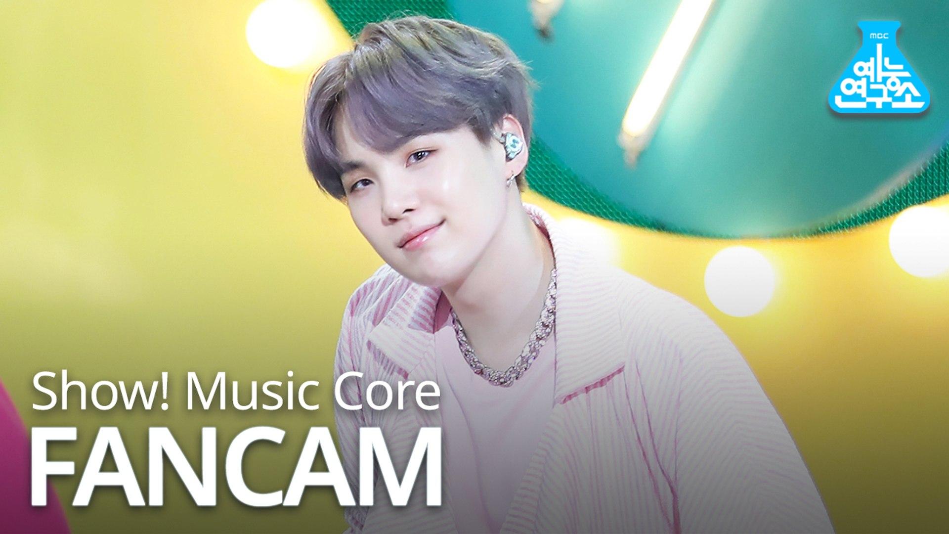 [예능연구소 직캠] BTS - Boy With Luv (SUGA), 방탄소년단 - 작은 것들을 위한 시 (슈가) @Show Music core 20190427