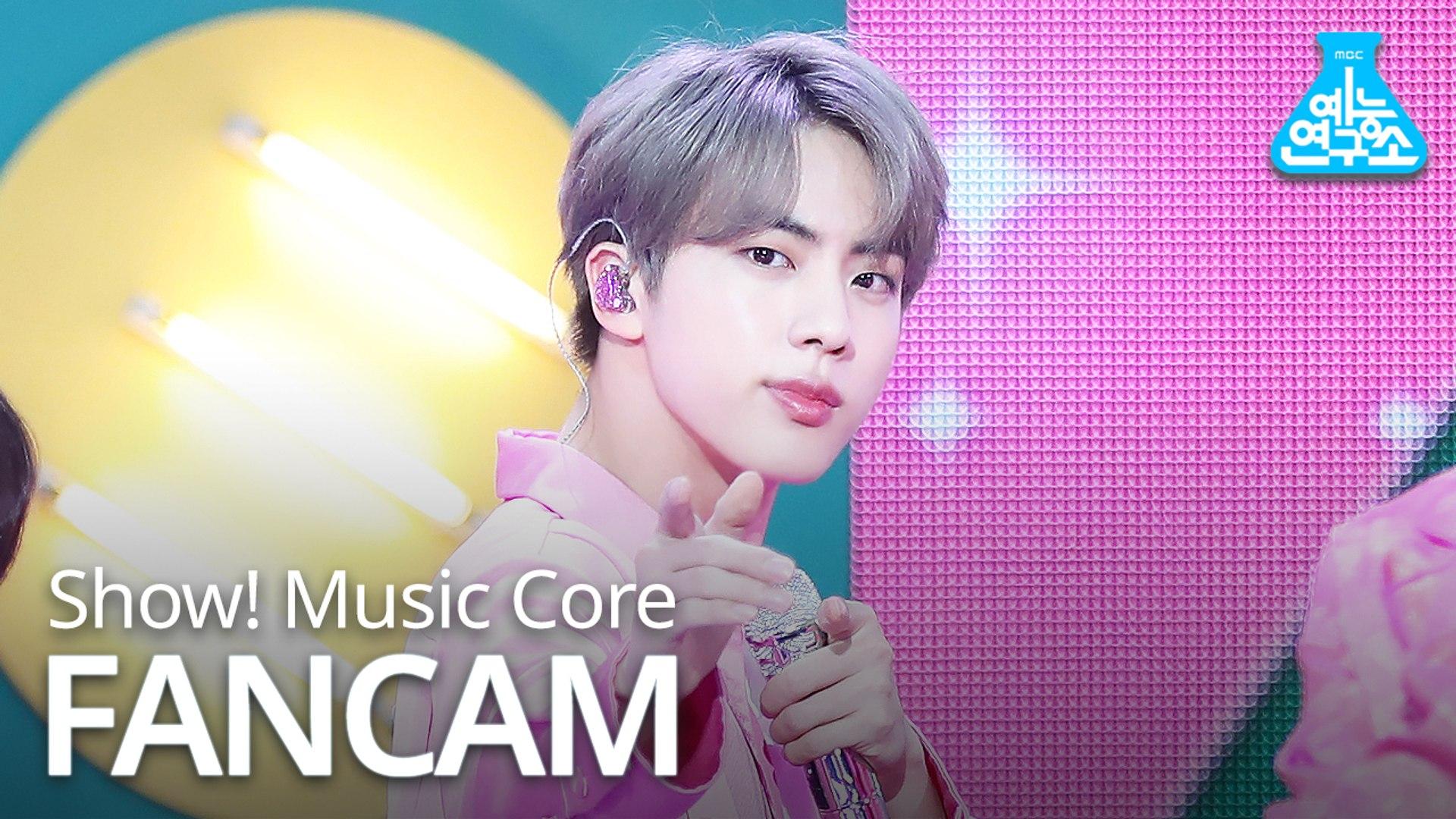 [예능연구소 직캠] BTS - Boy With Luv (JIN), 방탄소년단 - 작은 것들을 위한 시 (진) @Show Music core 20190427