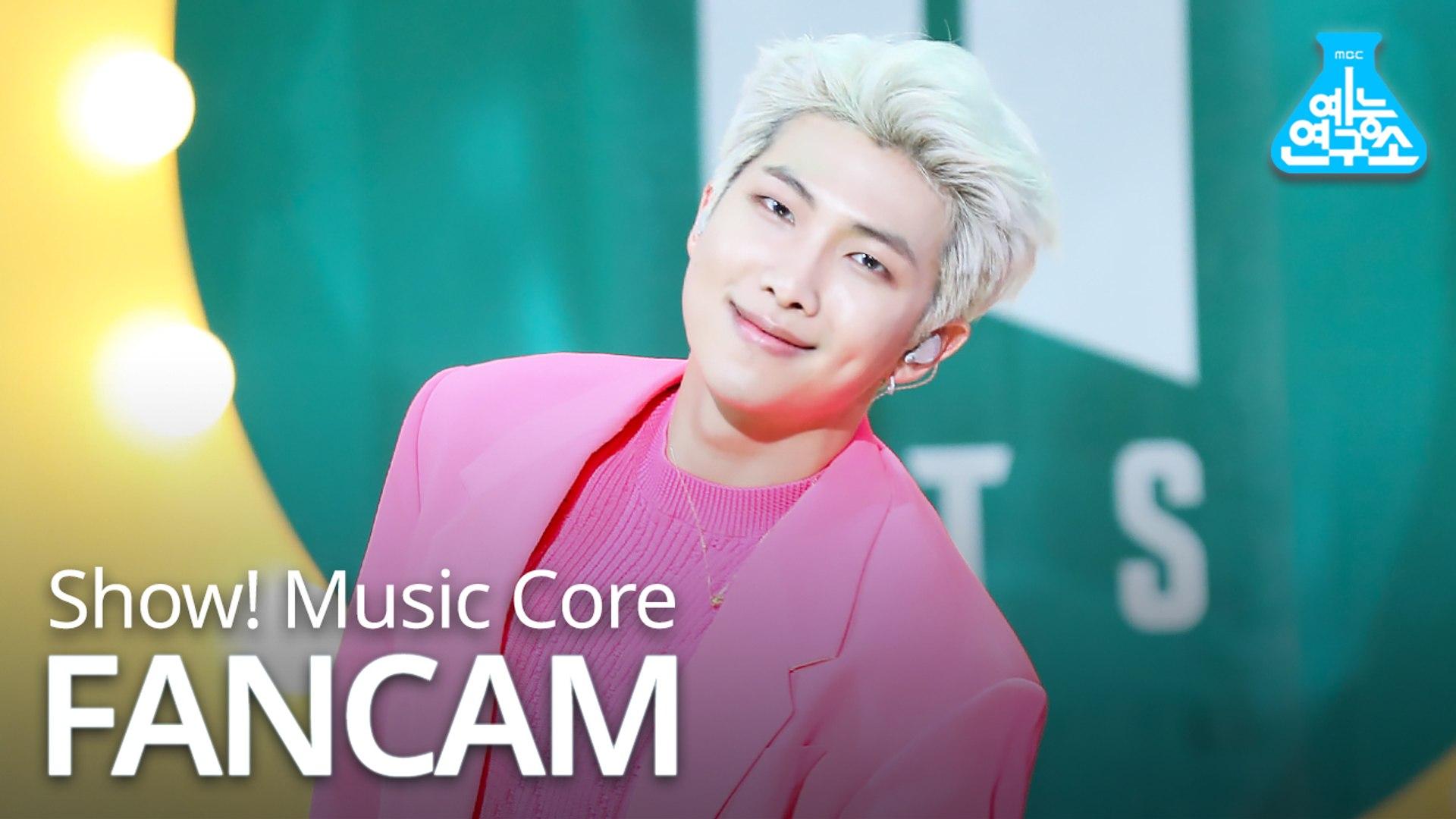 [예능연구소 직캠] BTS - Boy With Luv (RM), 방탄소년단 - 작은 것들을 위한 시 (알엠) @Show Music core 20190427