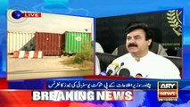 Peshawar: Information Minister KP, Shaukat Yousafzai addresses media