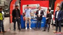 OMNISPORTS Le handballeur chambérien Clément Damiani honoré