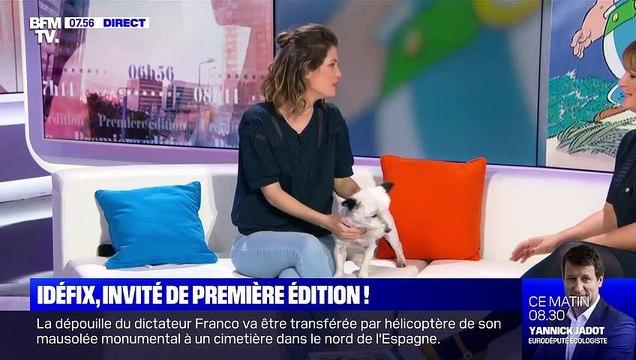 Première Edition (BFM TV) : Idéfix, invité d'Adeline François et Damien Gourlet