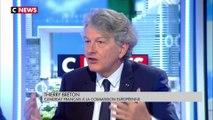 Commission européenne : Emmanuel Macron propose Thierry Breton après le rejet de Sylvie Goulard