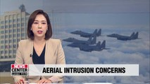 S. Korea requests Russia to stop intrusions into KADIZ