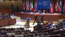 TBMM Başkanı Şentop, Avrupa Parlamento Başkanları Toplantısı'nda konuştu