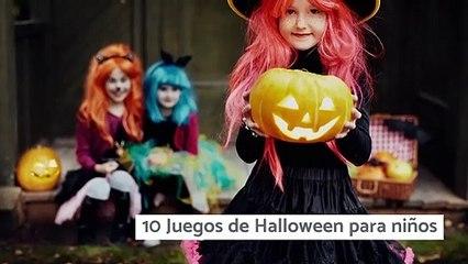 10 Juegos de Halloween para niños