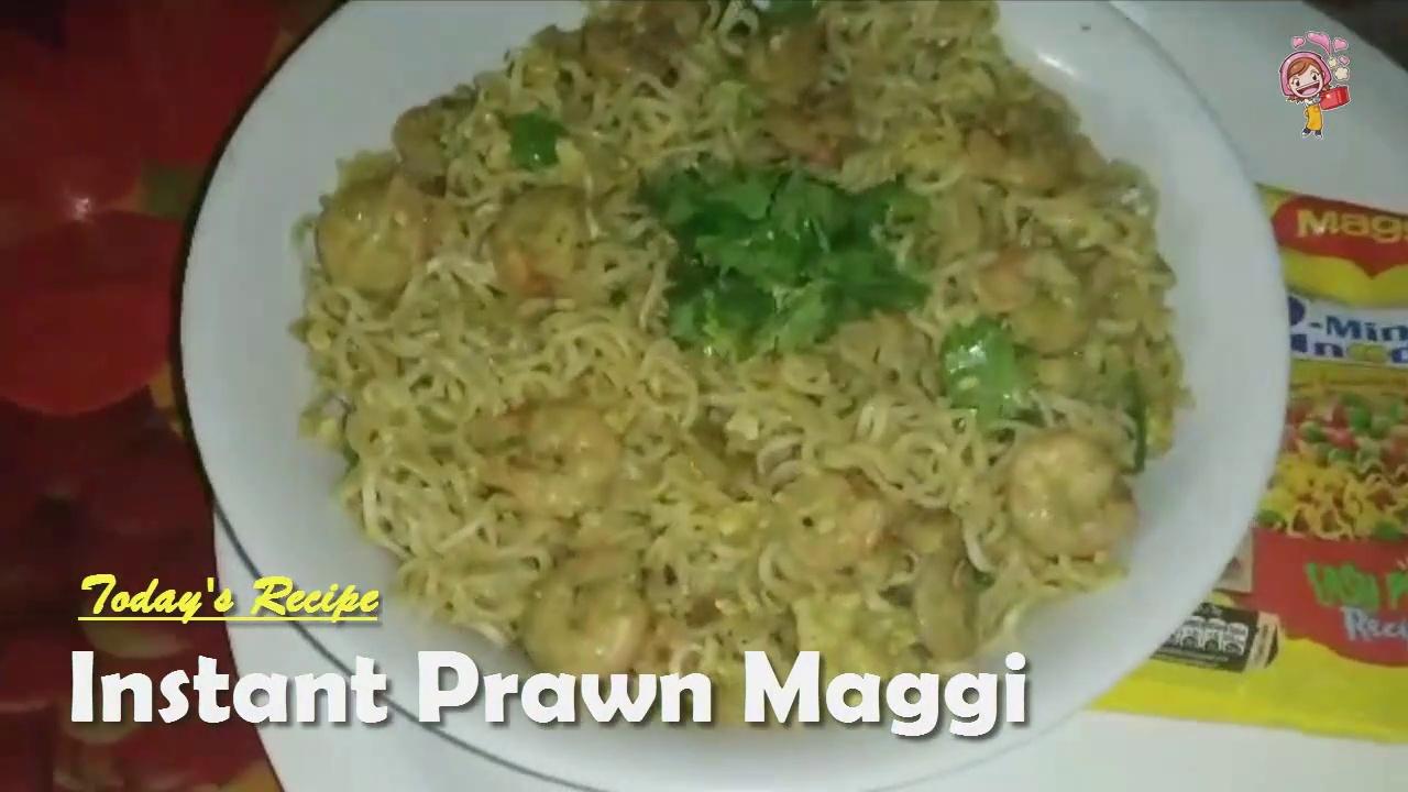 How to Make Prawn Maggi Masala