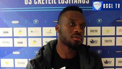 6e tour CDF Noisy le Sec-USCL : l'interview d'avant-match de Géraud Nsélé