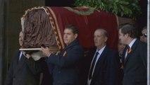El dictador Francisco Franco es exhumado del Valle de los Caídos