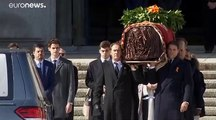 Le dictateur Franco mis dehors de son glorieux mausolée 44 ans après sa mort