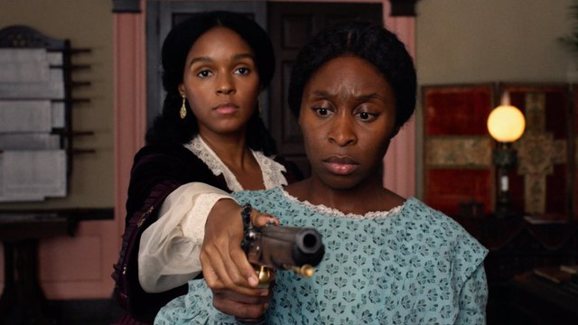 Exclusive: Watch Janelle Monáe Teach Cynthia Erivo an Important Lesson in Harriet