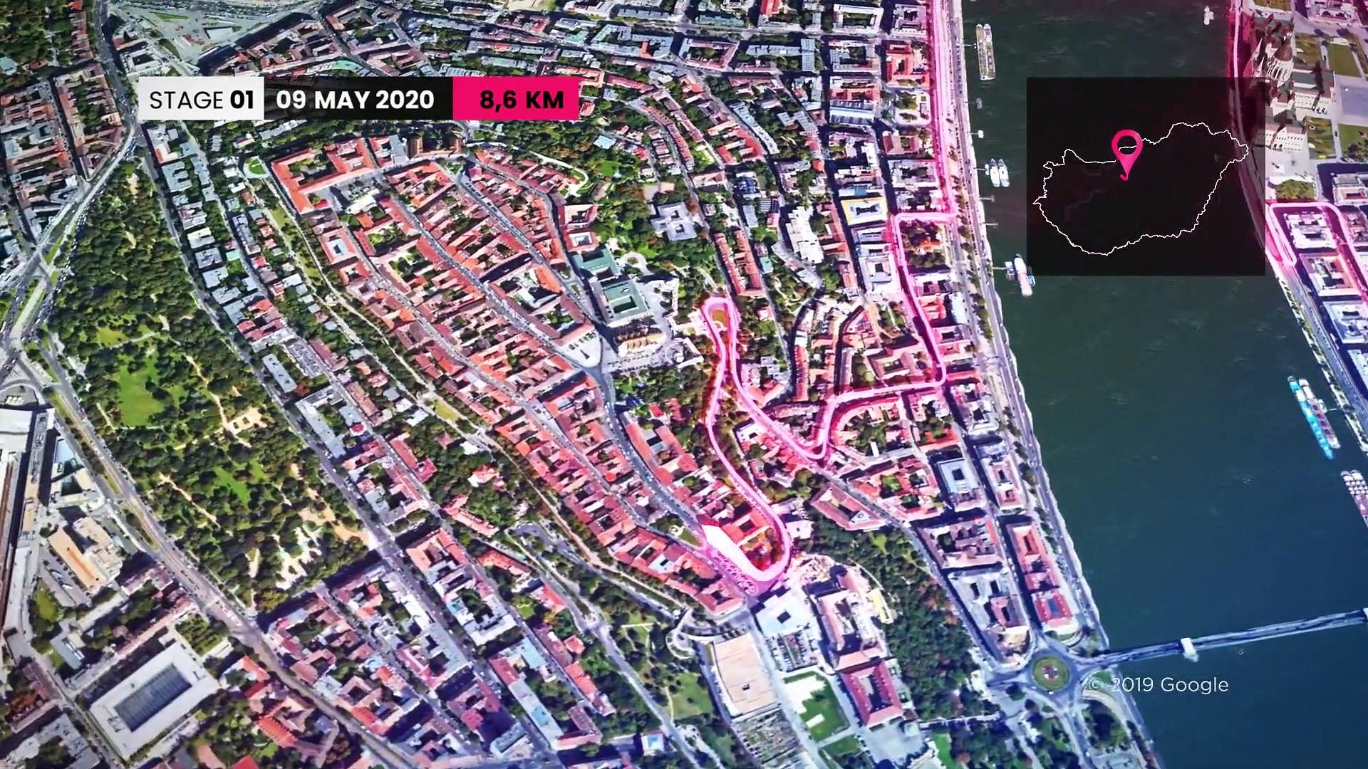 Tour d'Italie 2020 -Tour sur le parcours du Giro 2020