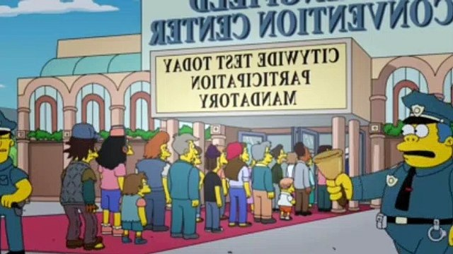 The Simpsons Season 29 Episode 11 Frink Gets Testy