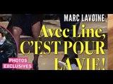 Marc Lavoine,  Line Papin, mariage, oui pour la vie (photo)