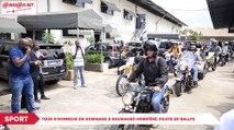 Tour d'honneur en hommage à Soumaoro Moriféré, pilote de rallye