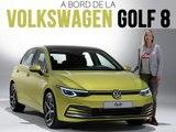 A bord de la Volkswagen Golf 8 (2019)