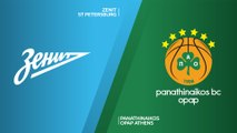 Zenit St Petersburg - Panathinaikos OPAP Athens Highlights | Turkish Airlines EuroLeague, RS Round 4