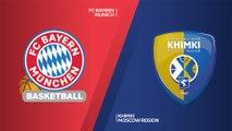 FC Bayern Munich - Khimki Moscow region Highlights | Turkish Airlines EuroLeague, RS Round 4