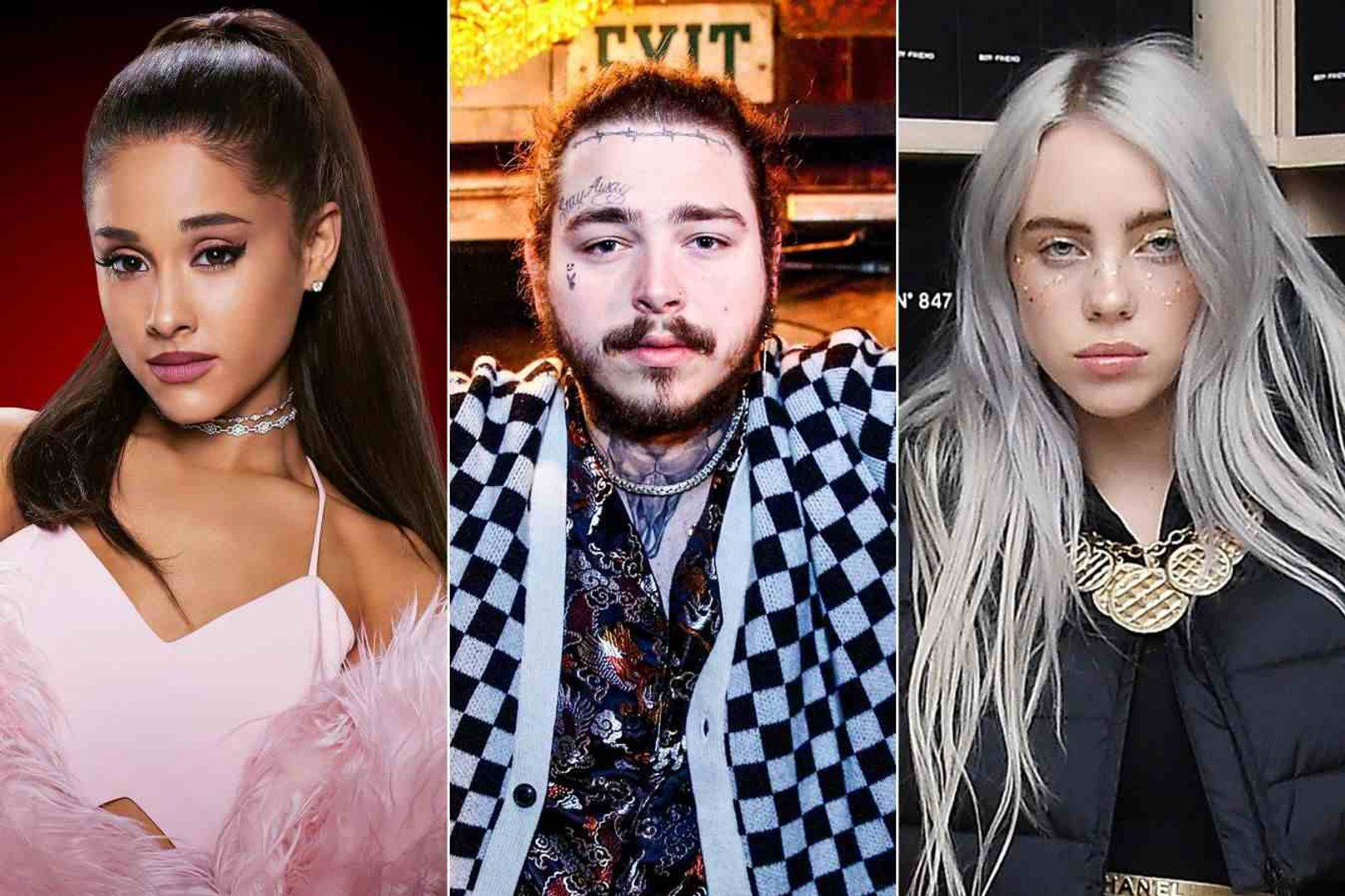 Post Malone, Ariana Grande, Billie Eilish Lead 2019 AMA Nominations