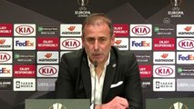Maçın ardından - Beşiktaş Teknik Direktörü Abdullah Avcı (2)