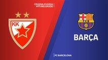 Crvena Zvezda mts Belgrade - FC Barcelona Highlights   Turkish Airlines EuroLeague, RS Round 4