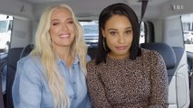 RHOBH's Erika Jayne Talks Pretty Mess, New Too Faced Line, & Puppygate on Back Seat Face Beat