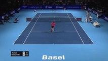 Wawrinka beats Tiafoe but pulls out of Federer showdown