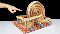 Build Amazing Gumball Game with DC Motor at Home
