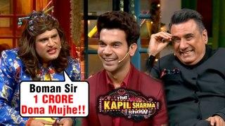 Krushna aka Sapna, Kapil LAUGHTER Session With Mouni Roy Rajkummar Rao   The Kapil Sharma Show