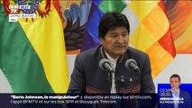 En Bolivie, le président Evo Morales est finalement réélu dès le premier tour au terme d'un dépouillement contesté
