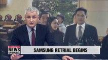 Samsung de facto leader Lee Jae-yong's bribery retrial begins Friday