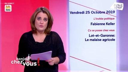 Fabienne Keller - Public Sénat vendredi 25 octobre 2019