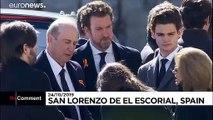 Fransisco Franco exhumé, 44 ans après son décès