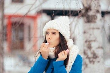 Geheimnisse für unwiderstehliche Lippen im Winter