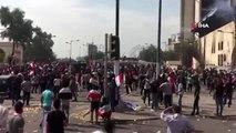 - Irak'ta protesto gösterilerindeki ölenlerin sayısı 2'ye yükseldi- Gazeteci hayatını kaybetti