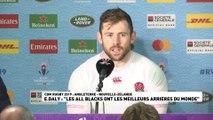 """E. Daly : """"Les All Blacks ont les meilleurs arrières du monde"""""""