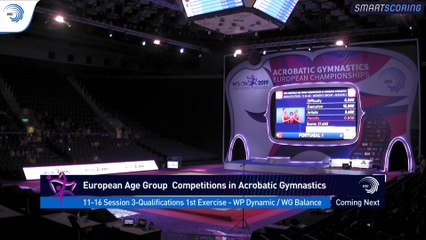 REPLAY - 2019 European Age Group Competitions in Acrobatic Gymnastics - Holon (ISR) - 25 October