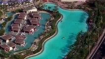 Avec sa forme d'immense guitare électrique, découvrez le nouveau Hard Rock Hotel et casino qui va être inauguré au nord de Miami en Floride