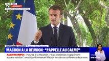 """Selon Emmanuel Macron, l'île de la Réunion peut """"faire figure d'exemple"""" en matière de vivre-ensemble entre différentes communautés"""
